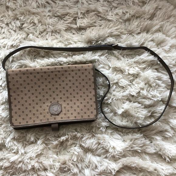 Fendi Handbags - VINTAGE FENDI TRI-POCKET BAG